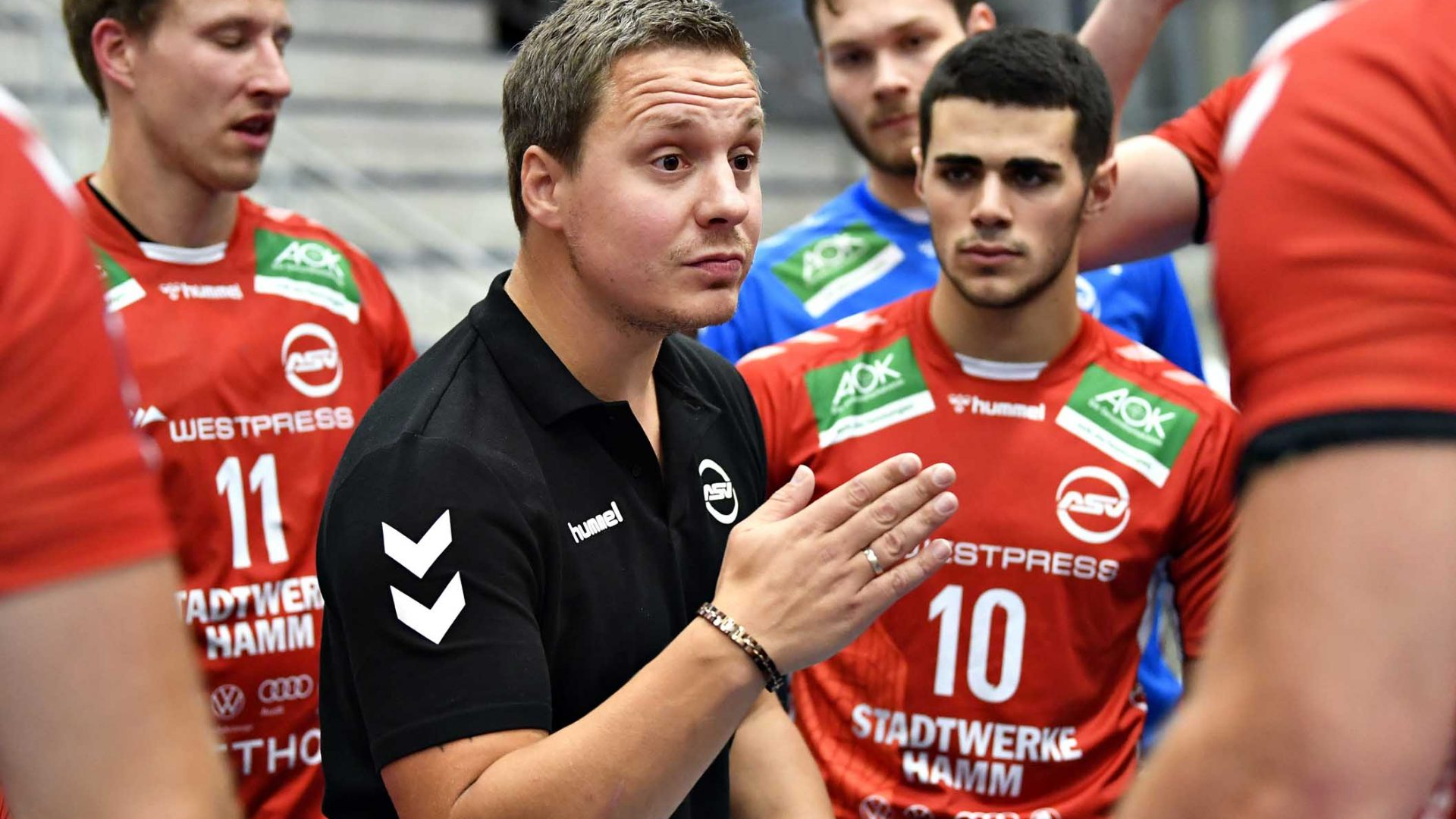 Handball Bundesliga ASV Hamm Bergischer HC Michael Lerscht